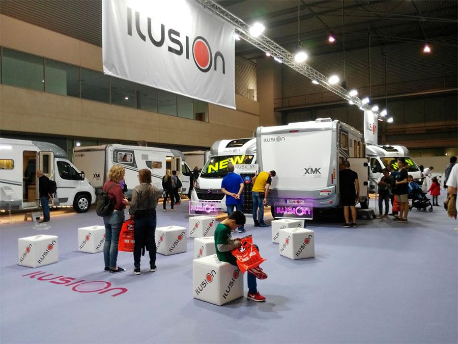 Ilusion en el Salón Internacional del Caravaning